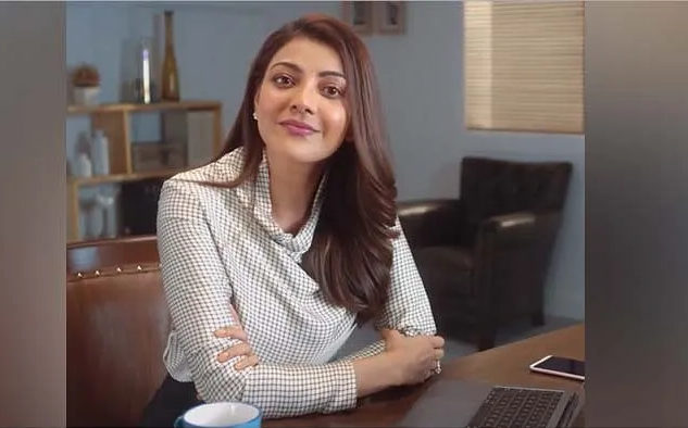 Actress Kajal Aggarwal endorses Indeed on Social Media