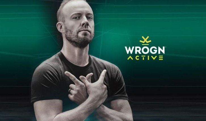 Wrogn Active Announces Star Cricketer AB de Villiers as Brand Ambassador
